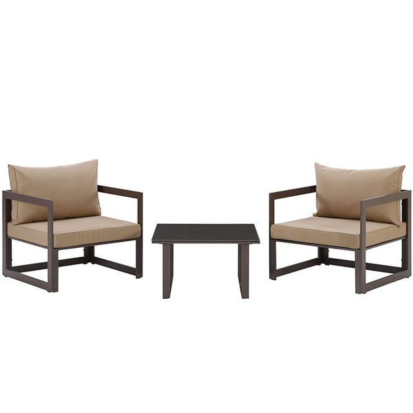 Fortune Series 3 Piece Outdoor Patio Set