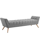 Rene Fabric Bench - Large
