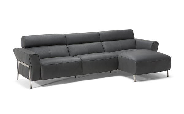 Elena Sectional in WHITE