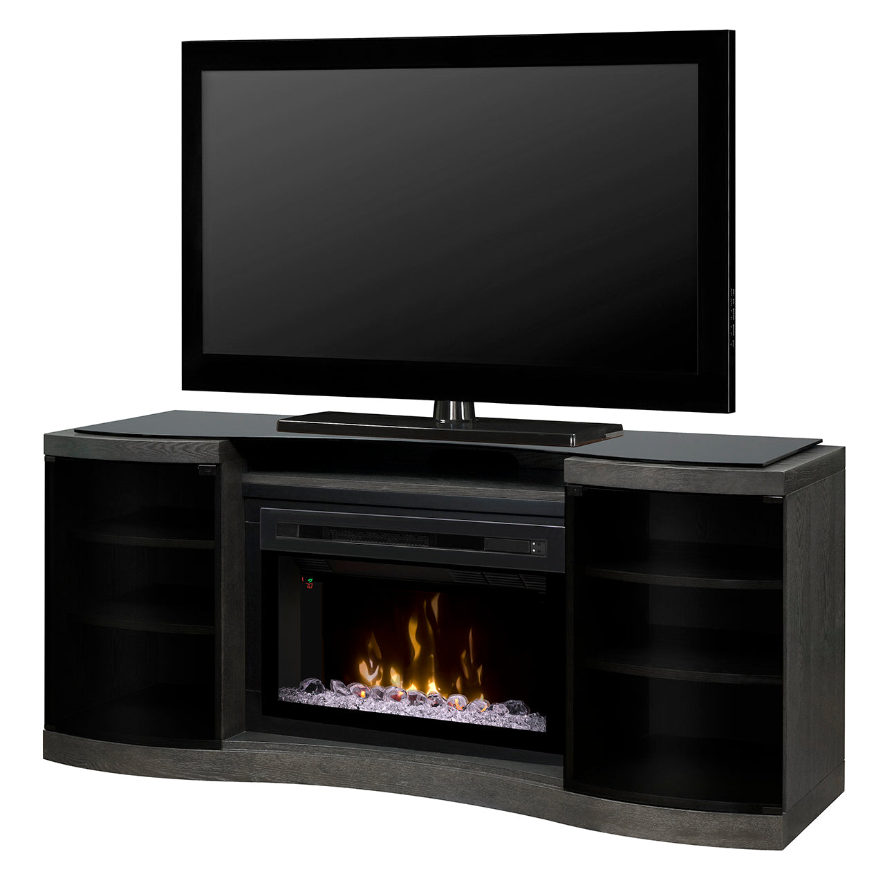 Actona Media Console With Fireplace