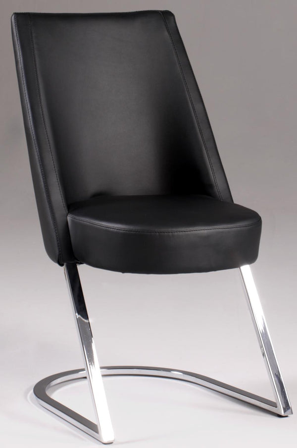 Concave Back Dining Chair