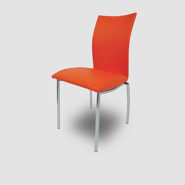 4067 Orange Dining Chair