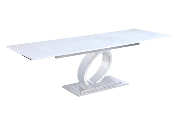 Alana Extendable Marble Dining Table