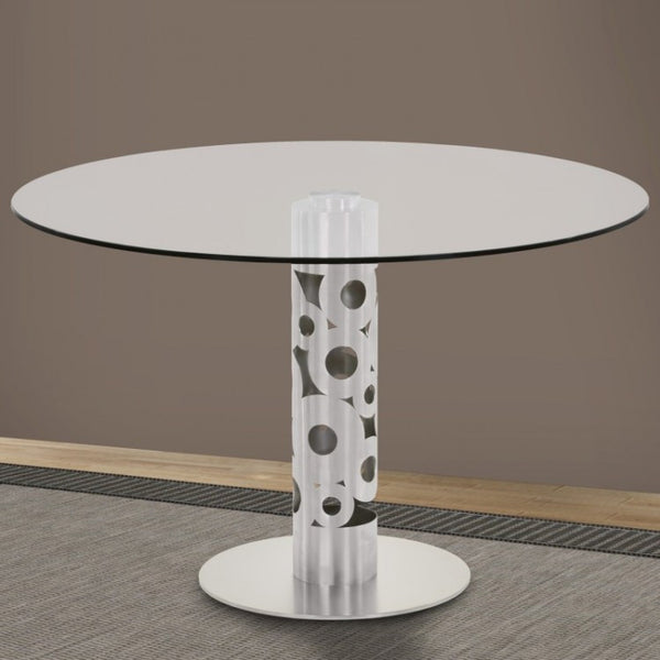 Berlin Round Dining Table - Euro Living Furniture