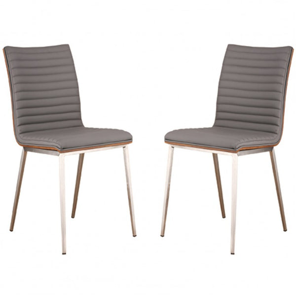 Coffee Dining Chair - 2/PK