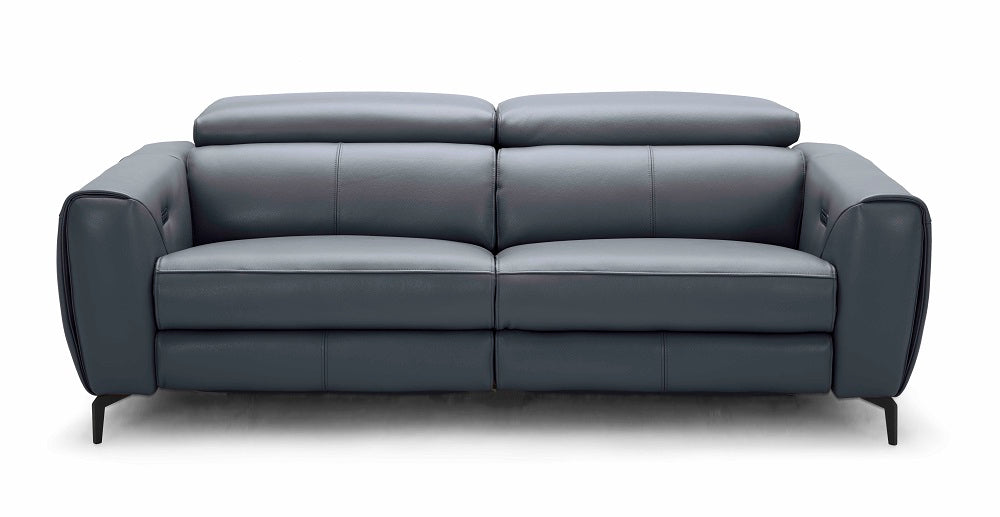 London Motion Sofa Collection in Blue-Grey