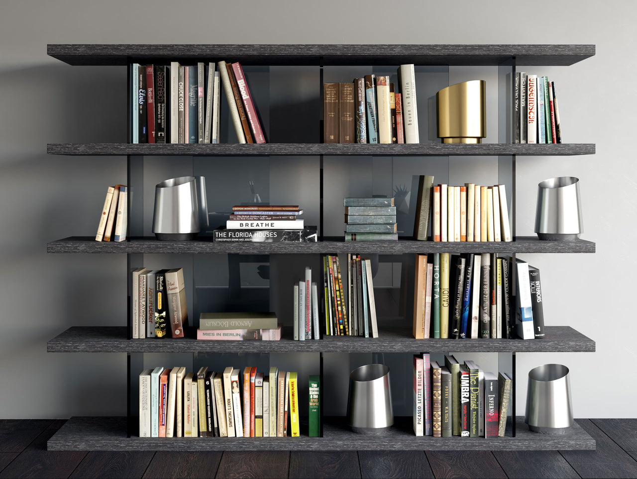 Beekman Bookcase - Euro Living Furniture