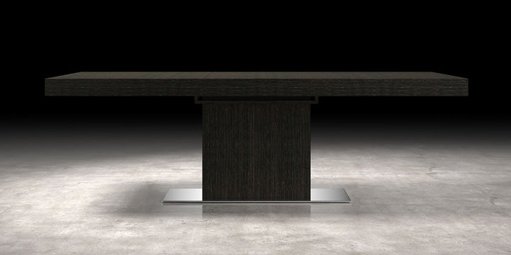 Astor Dining Table - Gray Oak - Euro Living Furniture