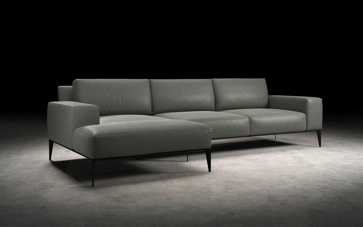 Elena Sectional in Warm Grey