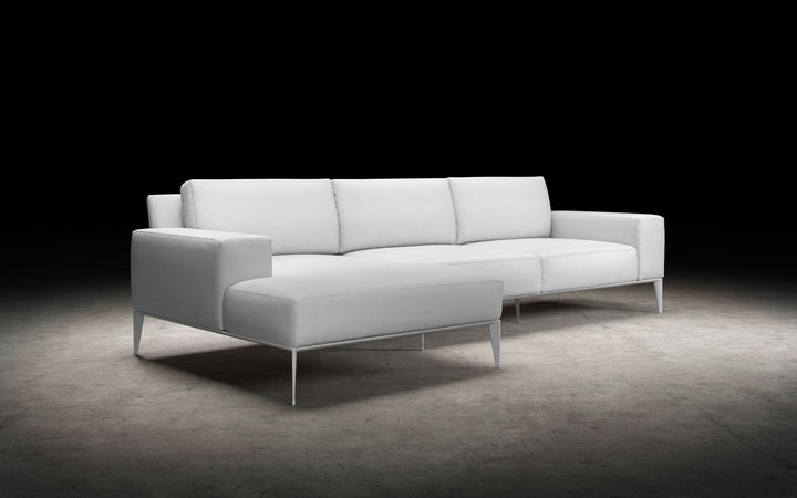 Elena Sectional in Snow White