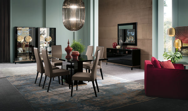 Glamour Extendable Dining Table Set