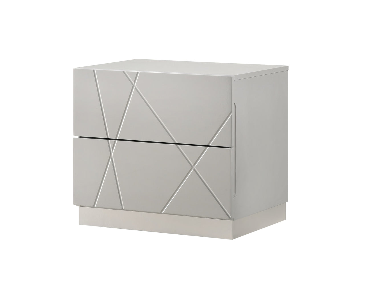Norman Nightstand in Grey