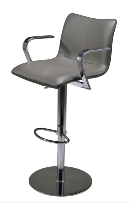Marly Barstool in grey