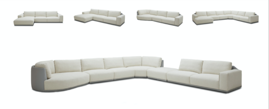 Modani Leather sectional