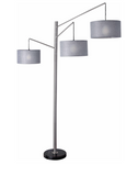 Wellington Arc Lamp - Euro Living Furniture