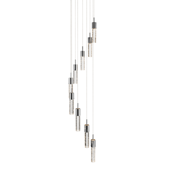 Kristall™ Model 83204 9-Light Mini Pendant Chandelier