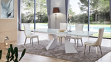 Axel Extendable Dining Table - Euro Living Furniture