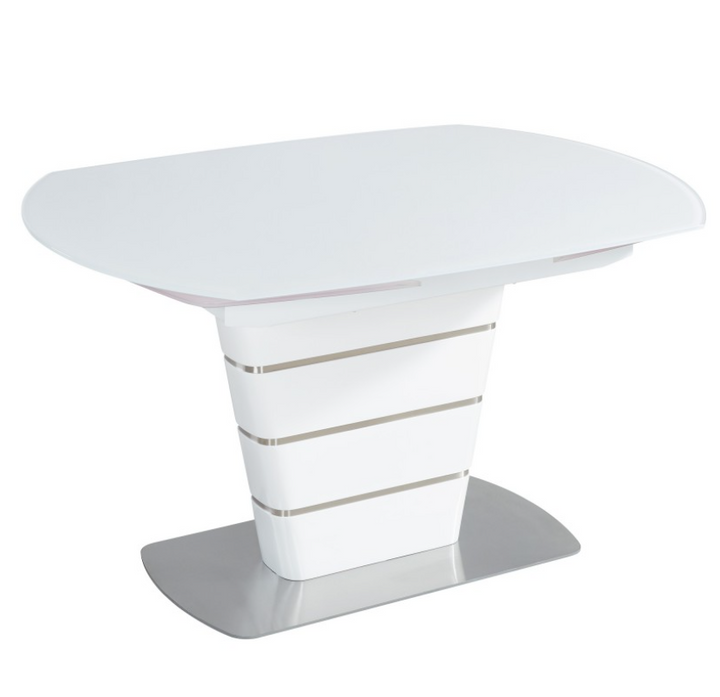 Atlantis Dining Table in White - Euro Living Furniture