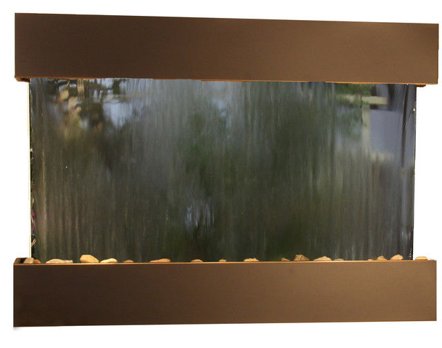 Reflection Waterfall - Black Frame