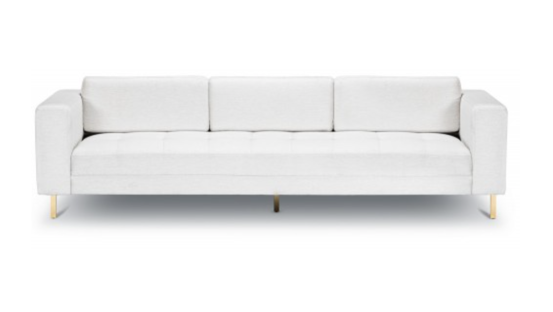ALLA SOFA - GOLD - Euro Living Furniture