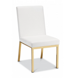 BROOKLYN CHAIR  - GOLD - Euro Living Furniture