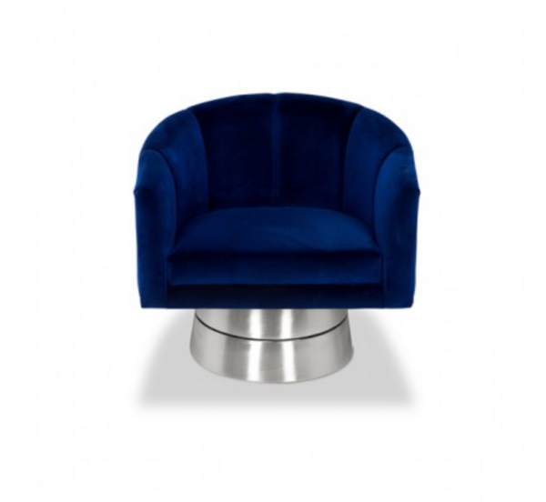 CLARK SWIVEL CHAIR - Euro Living Furniture