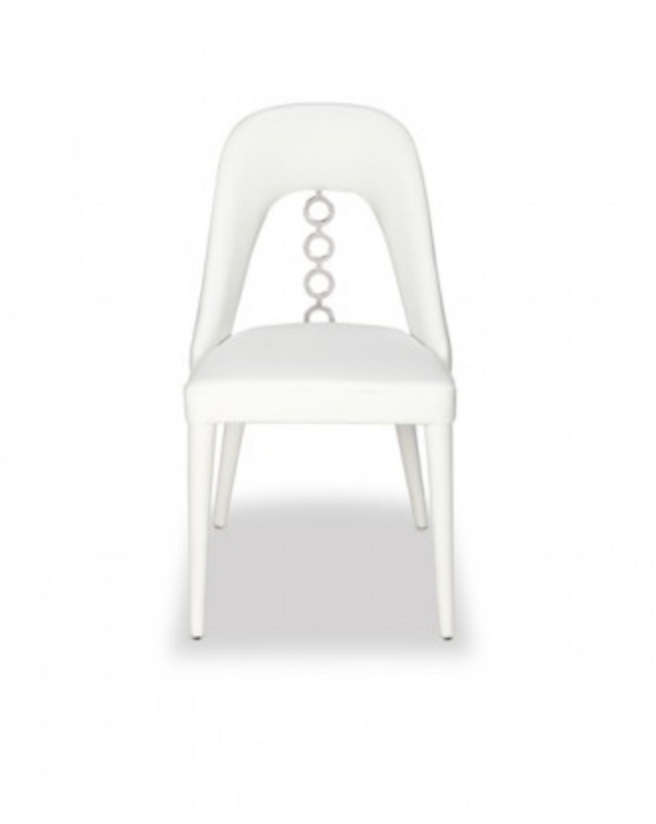 ROSY CHAIR - WHITE POLISHED