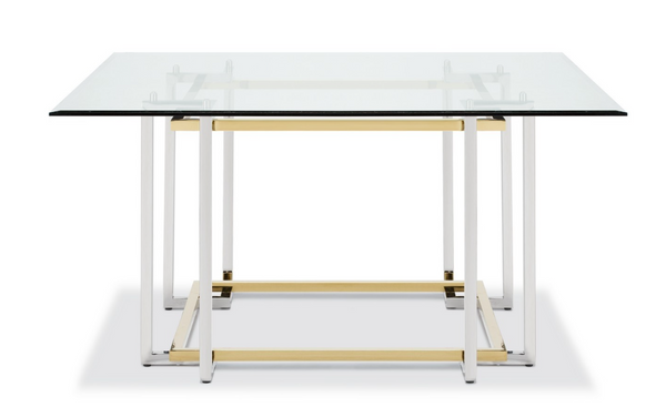 "LIN 59"" DINING TABLE - SQUARE"