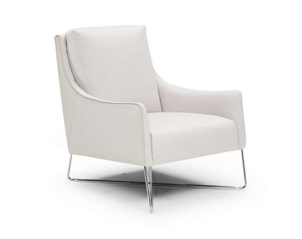ROMINA Chair by NATUZZI - White Leather