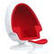 ALBA EGG CHAIR AND OTTOMAN