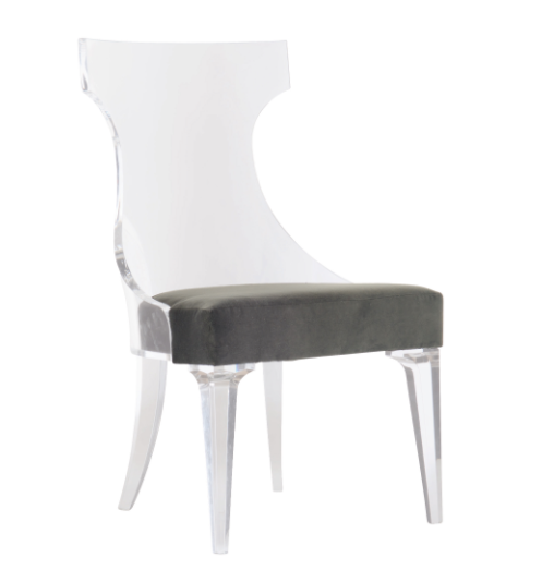 Tahila Acrylic Dining Chair by Benhardt