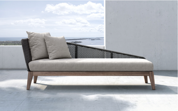 Nella outdoor chaise lounge