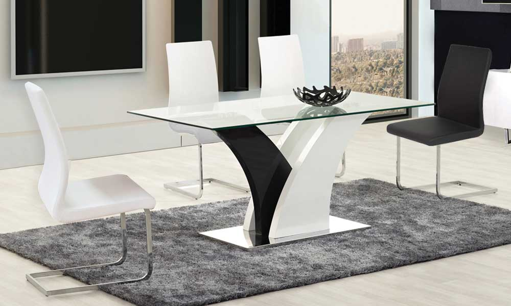 474 Dining Table - Euro Living Furniture