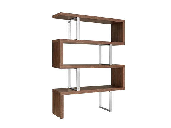 Rebeca Walnut Veneer Bookcases