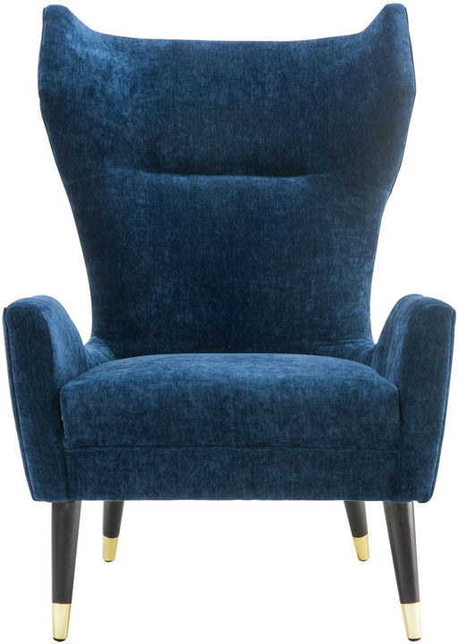 Luigi Navy Velvet Chair