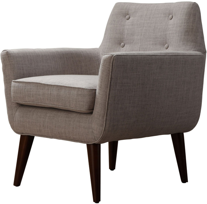 Cade Beige Linen Chair - Euro Living Furniture
