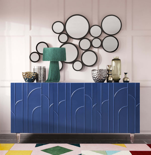 Demi Blue Lacquer Buffet