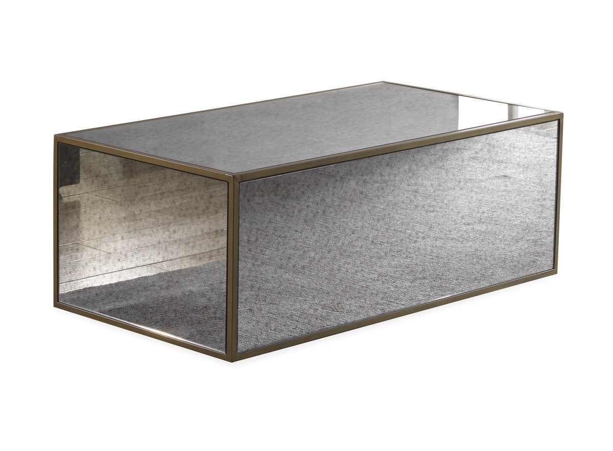 Lara Mirrored Coffee Table