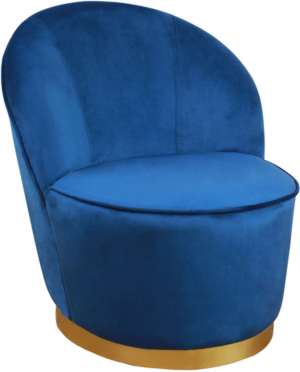 Jolly Navy Velvet Junior Chair