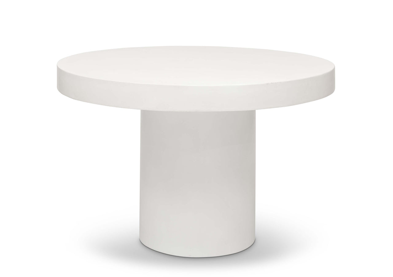 Ivory Sima Dining Table - 47""