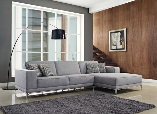 Agnes Fabric Sectional - Euro Living Furniture