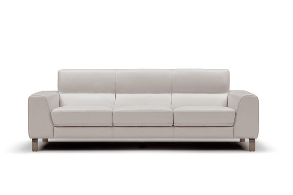Samara Sofa - White Leather