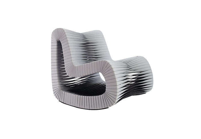 Seat Belt Rocking Chair - Euro Living Furniture