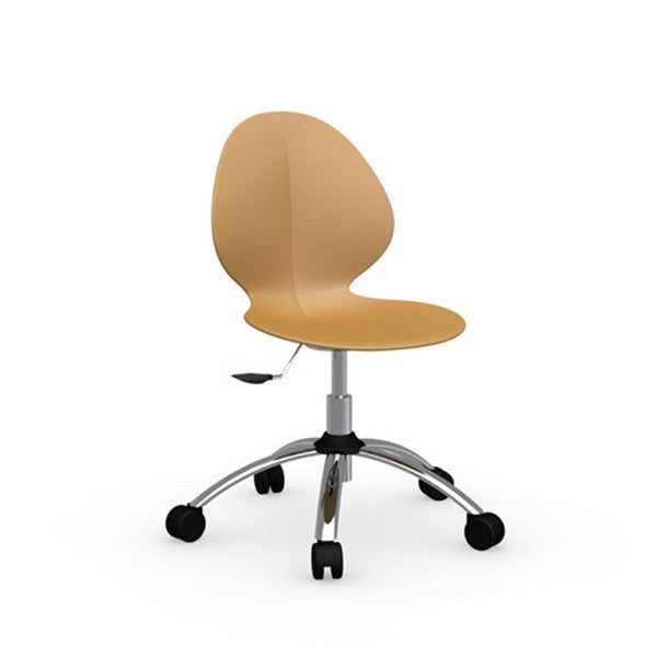 Basil Swivel Office Chair - Euro Living Furniture