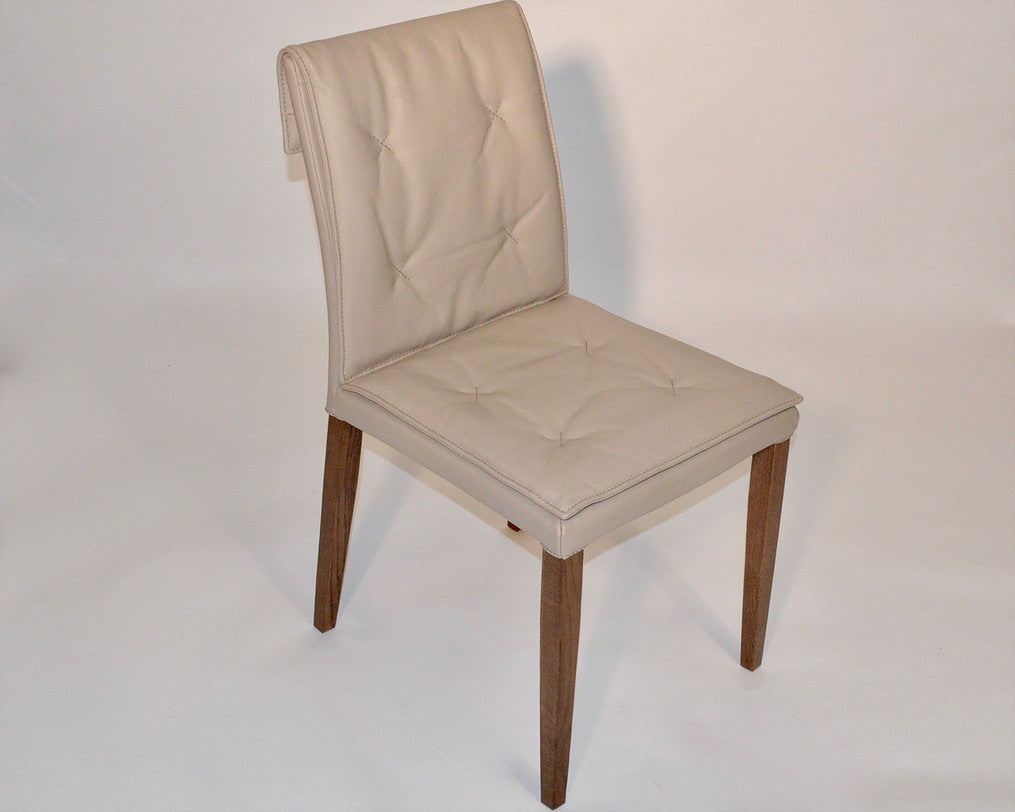Nadir Leather Dining Chair