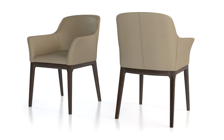 Anna Arm Dining Chair - Euro Living Furniture
