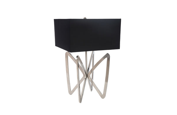 Butterfly Table Lamp Stainless Steel