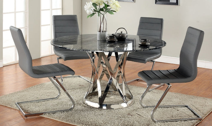 Janet Dining Table - Euro Living Furniture