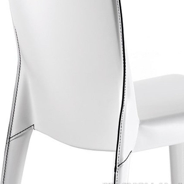Beverly Leather Dining Chair - Euro Living Furniture