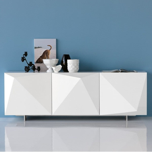 Kayak Modern Buffet Sideboard - Euro Living Furniture - Modern Buffet Sideboard - Euro Living Furniture